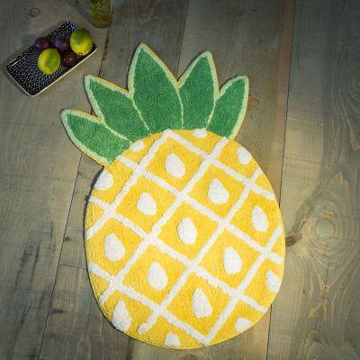 Badezimmer - Ananas Badezimmerteppich
