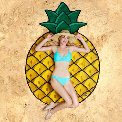 Badezimmer - Ananas Strandtuch