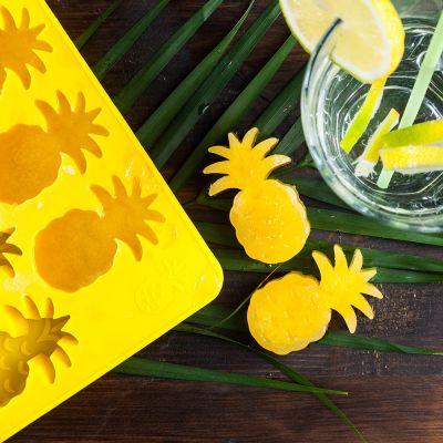 Geburtstagsgeschenk für Mama - Ananas Eiswürfelform