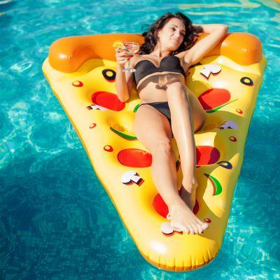 Geschenke für Frauen - Pizza Luftmatratze