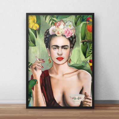 Exklusive Poster - Poster Frida by Nettsch