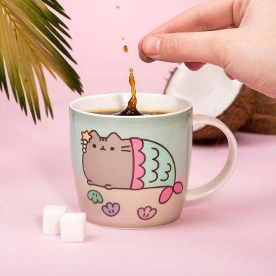 Witzige Geschenke - Pusheen Wärmeempfindliche Tasse
