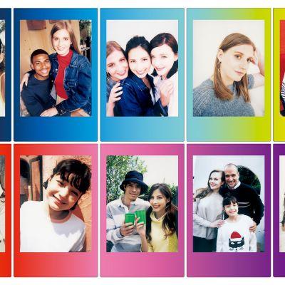 Gadgets - Fuji Instax Filme mit farbigen Rahmen