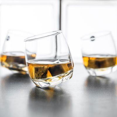 Valentinstag Geschenke für Männer - Rocking Whisky Schwenkgläser 6er Set