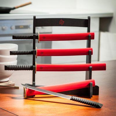 Retrokram - Samurai Küchenmesser Set