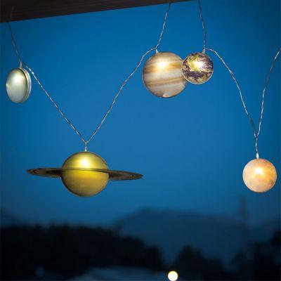 Wohnen - Sonnensystem Lichterkette