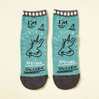 Kleidung & Accessoires - I'm A Special Unicorn Socken