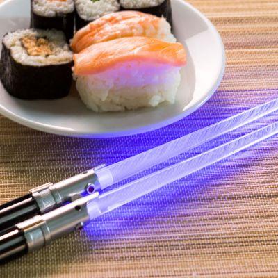 Wohnen - Star Wars Lichtschwerter Essstäbchen