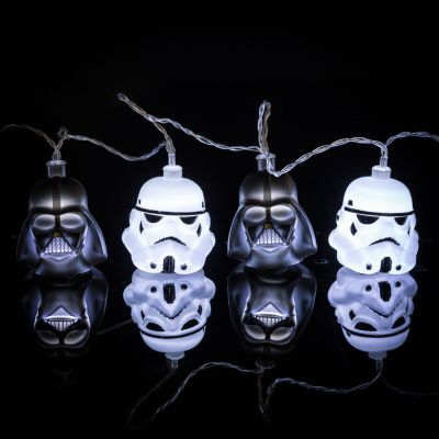 Lampen - Star Wars Darth Vader & Stormtrooper Lichterkette