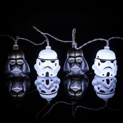 Geschenke für Bruder - Star Wars Darth Vader & Stormtrooper Lichterkette