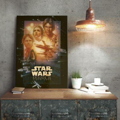 Poster - Star Wars Metallposter - Eine neue Hoffnung