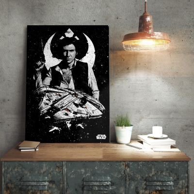 Poster - Star Wars Metallposter - Captain Han Solo