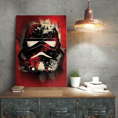 Poster - Star Wars Metallposter - Stormtrooper Splatter