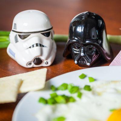 Geschenk für Freund - Star Wars Salz- und Pfefferstreuer