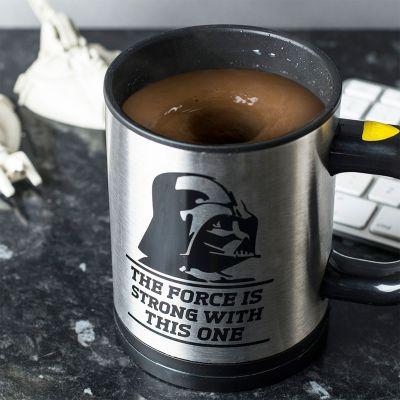Weihnachtsgeschenke für Männer - Star Wars Selbstrührende Tasse