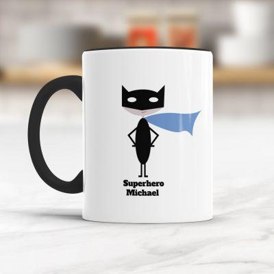 Personalisierte Geschenke - Superheld/in - Personalisierbare Tasse