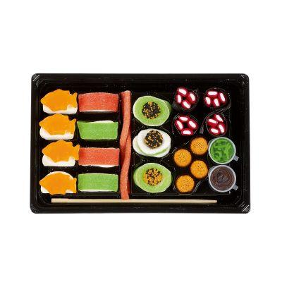 Adventskalender füllen - Sushi Gummibärchen