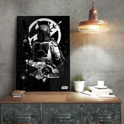 Poster - Star Wars Metallposter - Boba Fett Slave 1