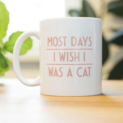 Geburtstagsgeschenk zum 30. - Most Days I Wish ... Tasse