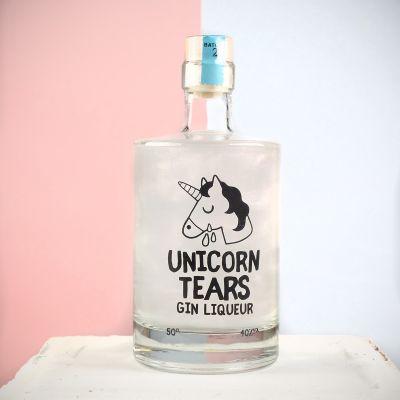Geburtstagsgeschenk für Mama - Einhorn Tränen - Likör mit Gin
