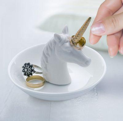 Badezimmer - Einhorn Ringhalter