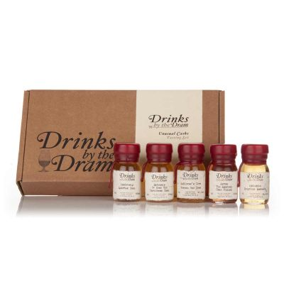 Geschenk für Freund - Unübliches Whisky Set (5 Kostproben)