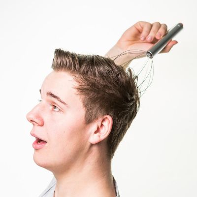 Valentinstag Geschenke für Männer - Angel Fingers Massagegerät für den Kopf