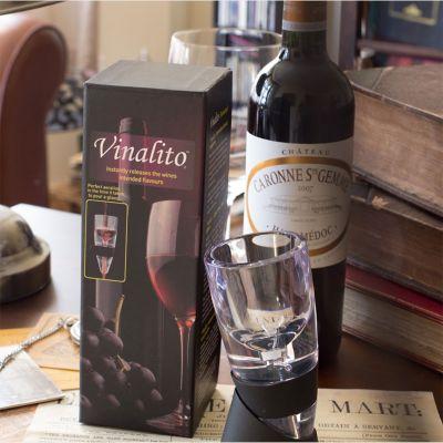 An der Bar - Vinalito Weinbelüfter