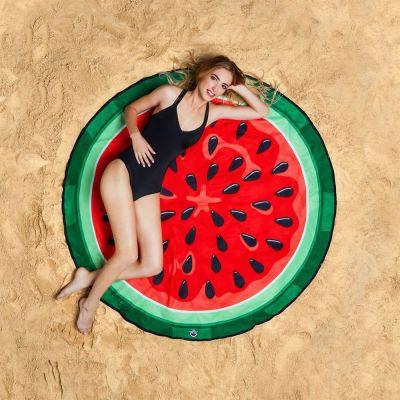 Badezimmer - Wassermelonen Strandtuch