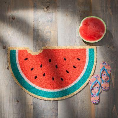 Deko - Südfrüchte-Fußmatten