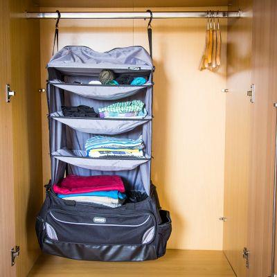 Gadgets - Weekender Reisetasche mit integrierter Garderobe