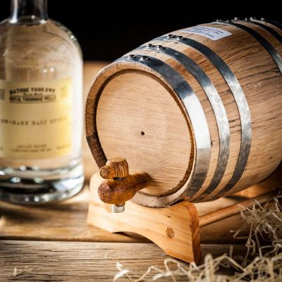 Alkohol - Whisky selbst machen - Set mit Eichenfass