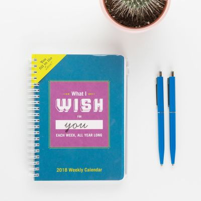 Top-Seller - Kalender What I Wish For You Each Week