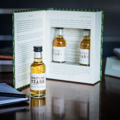Alkohol - Writers Tears Irish Whiskey Geschenke-Set