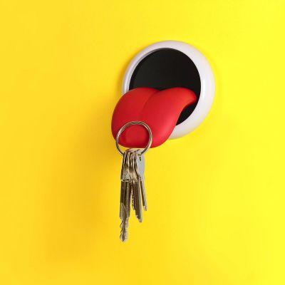 Wichtelgeschenke - Magnetischer Schlüsselhalter Zunge