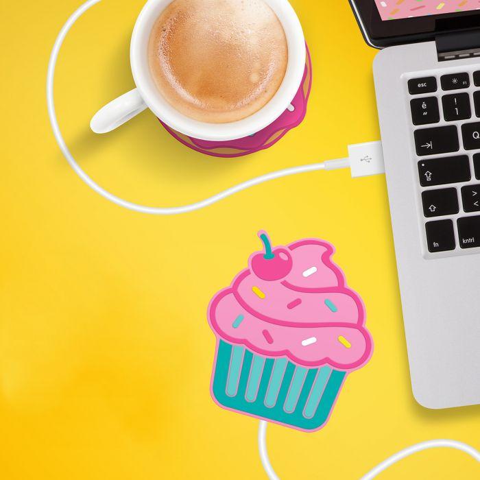 Cupcake USB-Tassenwärmer
