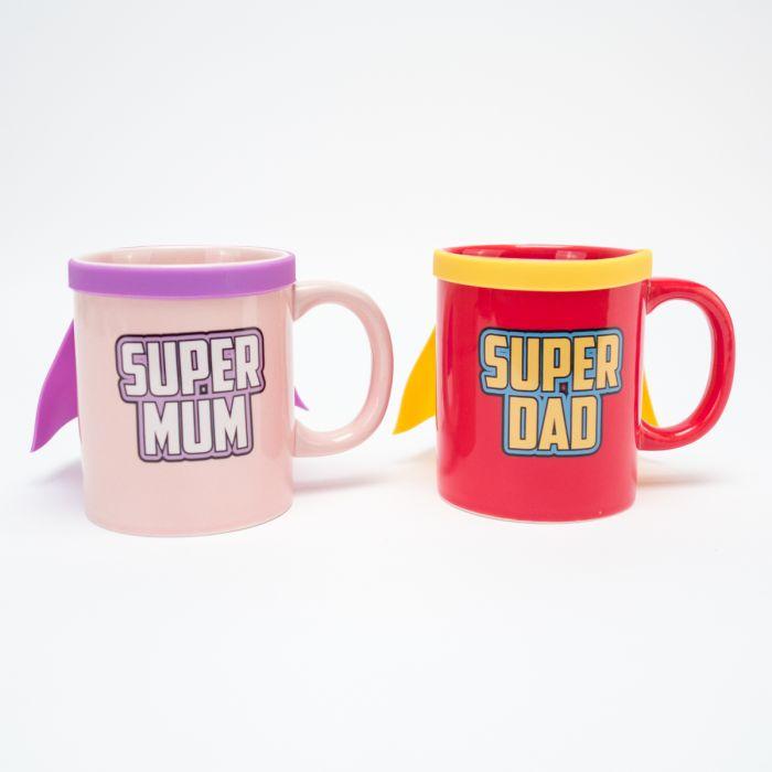 Super Mum & Super Dad Tasse