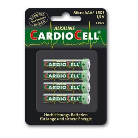 Cardiocell Batterie AAA-LR03 4er Pack