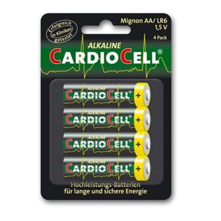 Cardiocell Batterie AA-LR6 4er Pack