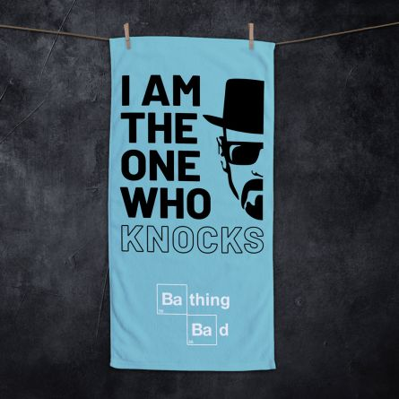 Handtuch I Am The One Who Knocks