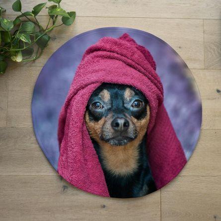 Personalisierbare Badezimmermatte mit Foto
