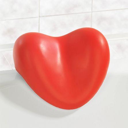 Herz-Kissen für die Badewanne