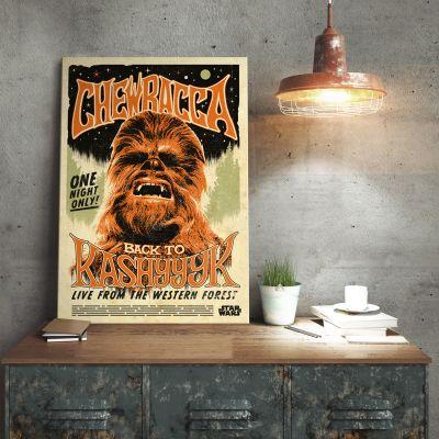 Star Wars Metallposter - Chewbacca