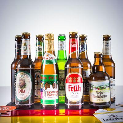 Biergeschenke - Bier Deutschlandreise Geschenkbox