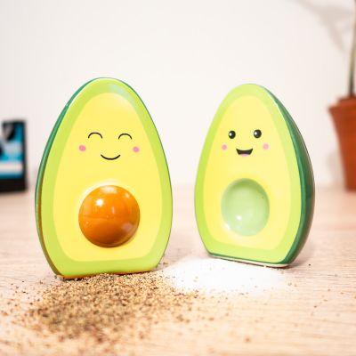 Kleine Geschenke - Happy Avocado Salz- und Pfefferstreuer