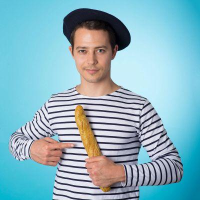 Brotmesser im Baguette