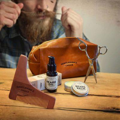 Weihnachtsgeschenke für Papa - Bartpflegeset Deluxe