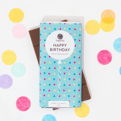 Essen & Trinken - Happy Birthday Schokolade