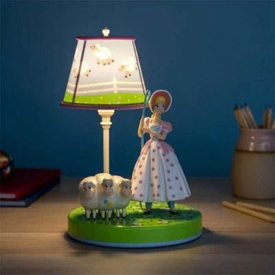Film & Serien - Toy Story Porzellinchen Lampe mit Figur