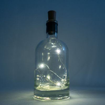 Beleuchtung - Lichterkette in der Flasche